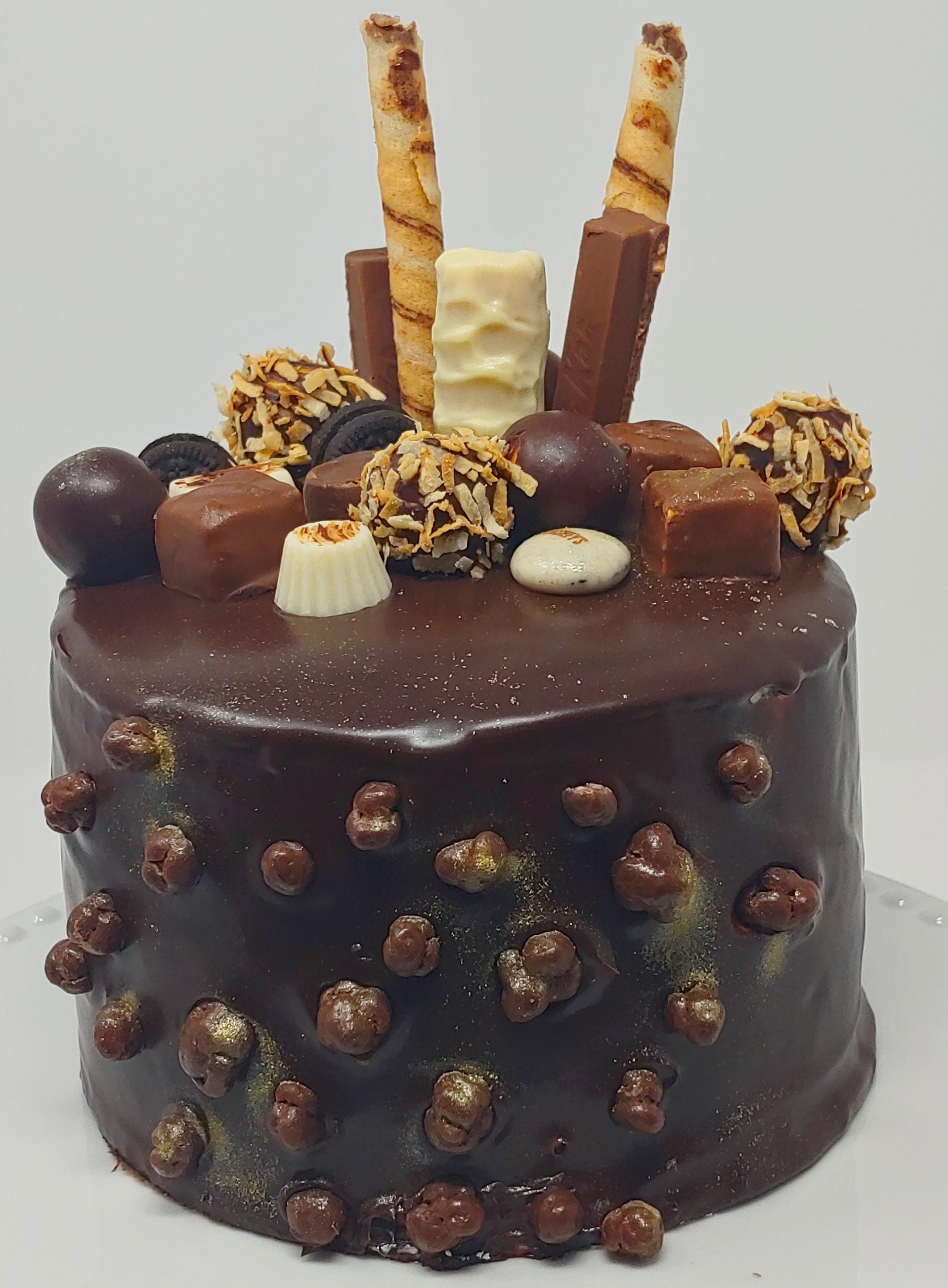 Chocolate Explosion Cake